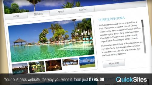QuickSites Business Website