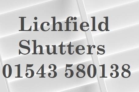 Lichfield Bespoke Interior Window Shutters 01543580138 Logo