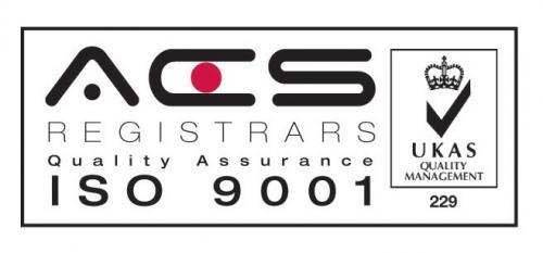 UKAS ISO 9001 Audited