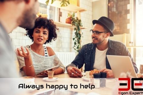 Always happy to help