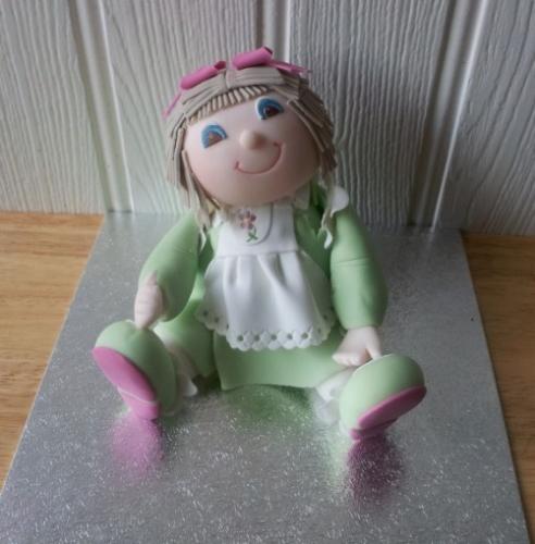 Ragdoll cake topper