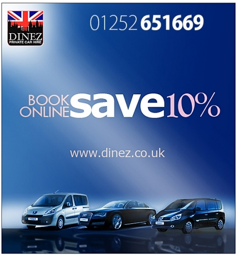 Taxis To Heathrow From Farnborough And Aldershot