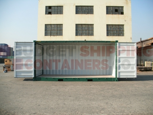 20ft High Cube Side Opening Shipping Containers