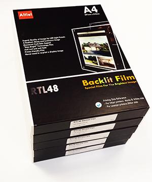 Backlit Film sheet for LED Lightbox / LED Light Panels