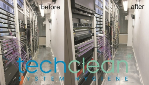server room cleaning