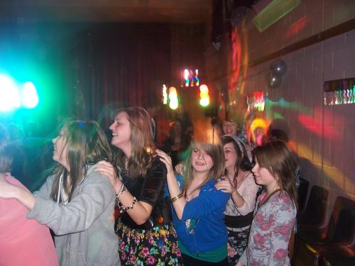 Teenagers birthday party at Woodley