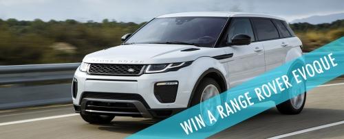 Win a Range Rover Evoque