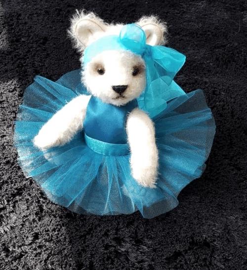 OOAK Handmade Teddy Bear Prima Ballerina