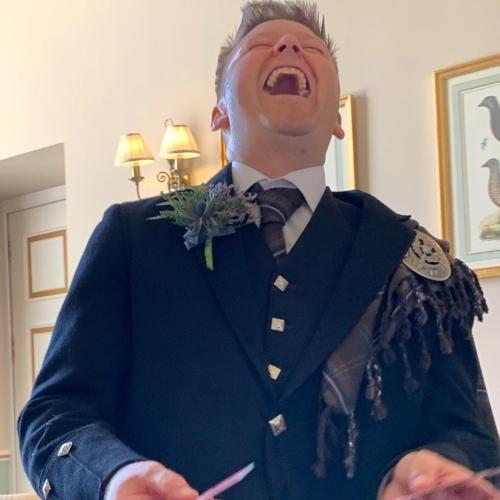 Magician Edinburgh - Wedding Magic