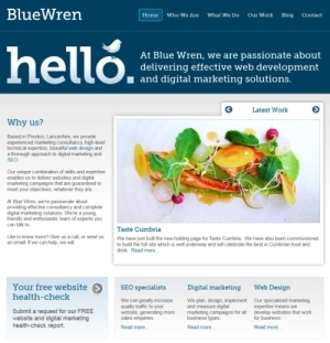Blue Wren Website
