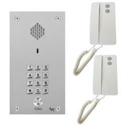 Bpt Vandal Resistant Keypad Panel With Agata Handsets