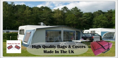 Caravan Accessory Storage Bags and Covers