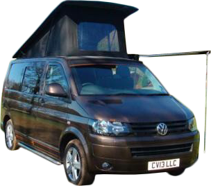 Camper Van for Hire - Rex