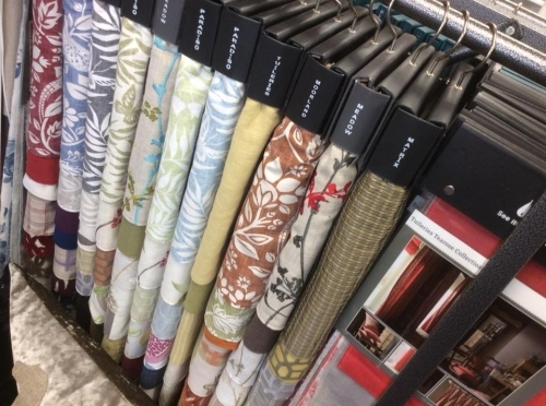 Lots of fabrics to choose from at Victoria and Scarlet in Someset