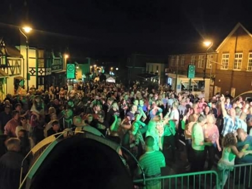 Crowd At Broseley Fest From Stage
