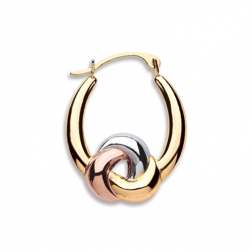 Gold Earrings By Silver Aura Jewellery - Sager00160