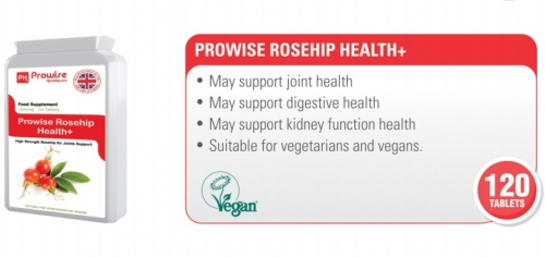 Prowise Rosehip 120 Tablets 5000mg UK Made
