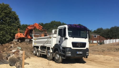 tipper hire Salford, Manchester