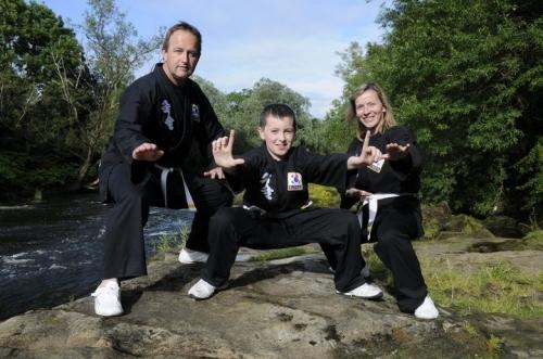 Cochrane family now black belts