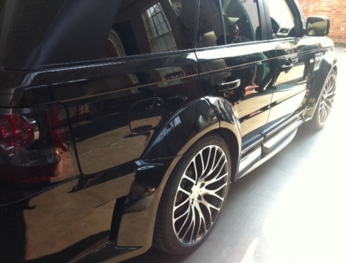 """New 22"""" alloys fitted to a Range Rover Sport!"""
