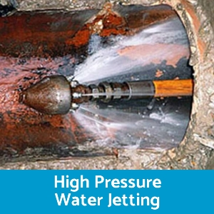 High Pressure Water jetting