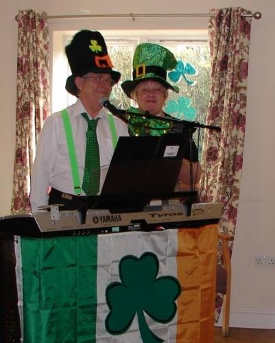 St Patrick day gig
